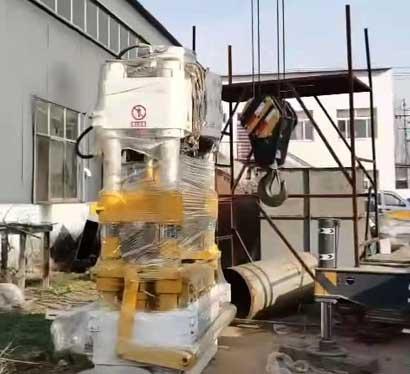 ZY500型全自动液压砖机发货浙江宁波