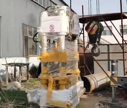 浙江宁波ZY500全自动液压砖机发货