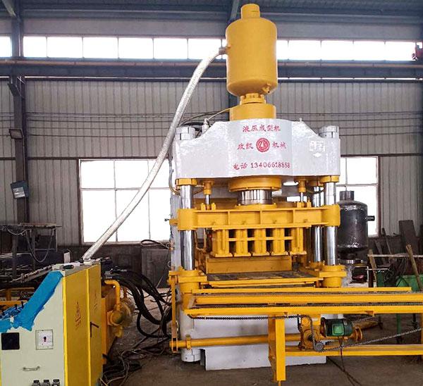 500吨静压砖机-ZY500静压砖机